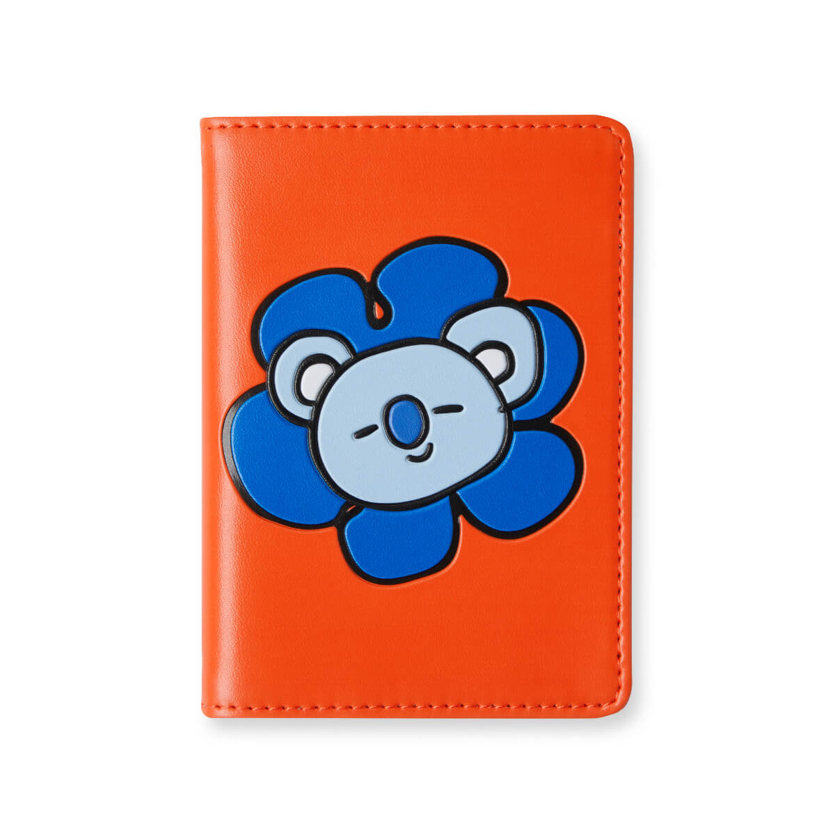 BT21 KOYA Flower Graphic Passport Cover