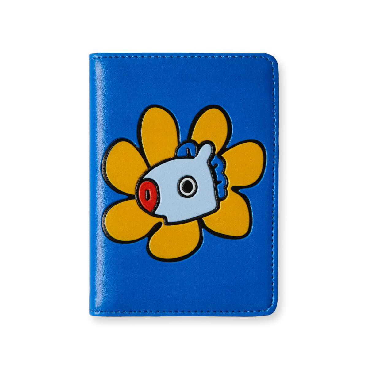 BT21 MANG Flower Graphic Passport Cover