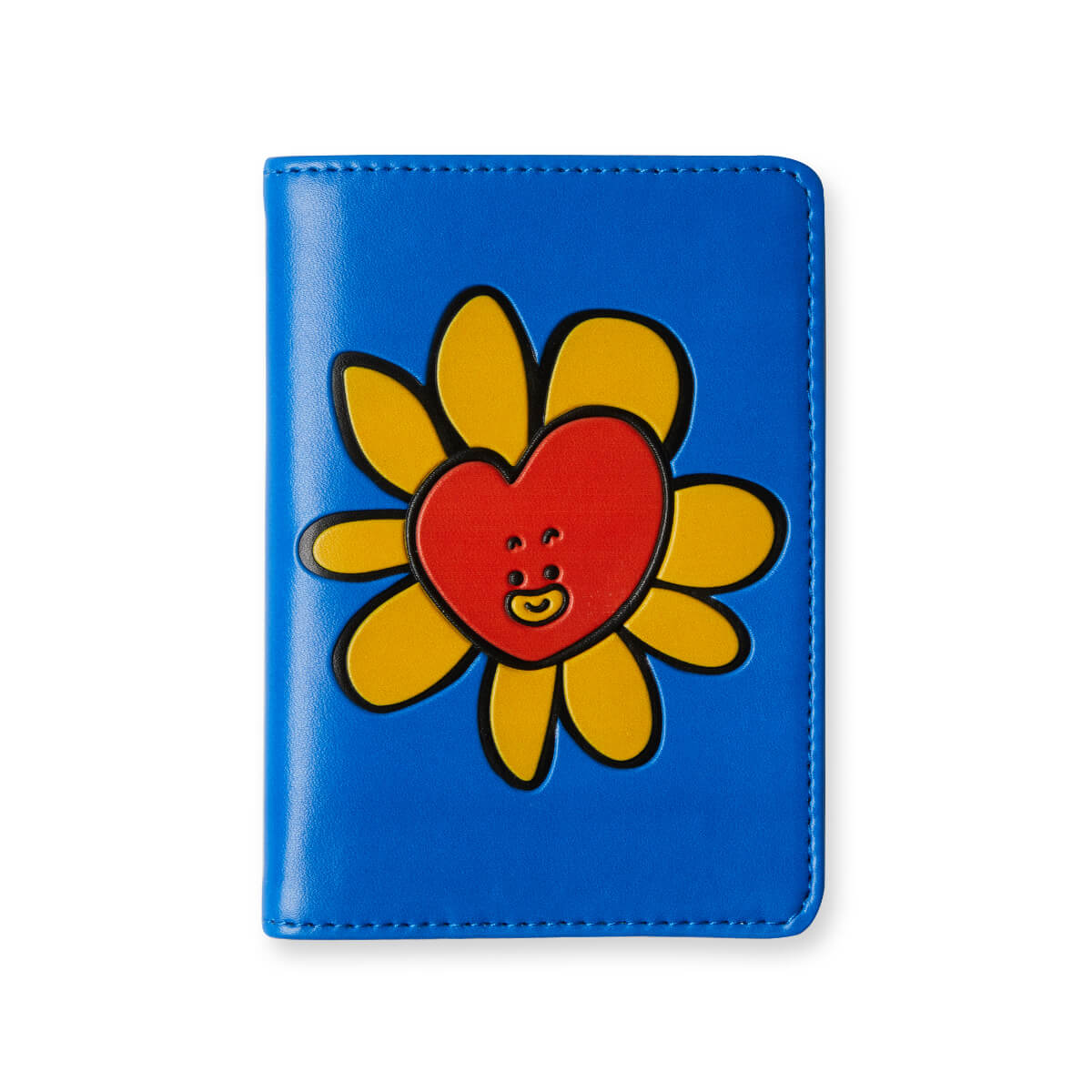 BT21 TATA Flower Graphic Passport Cover