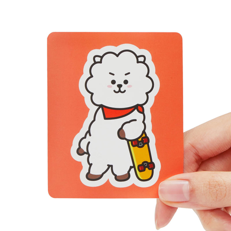 BT21 RJ Removable Decal Sticker (10)