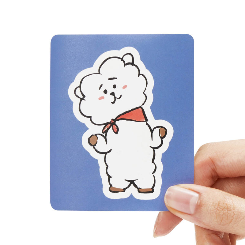 BT21 RJ Removable Decal Sticker (11)