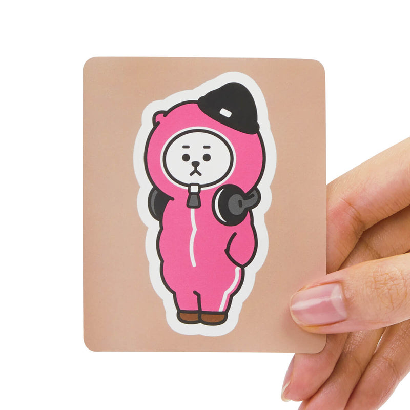 BT21 RJ Removable Decal Sticker (12)