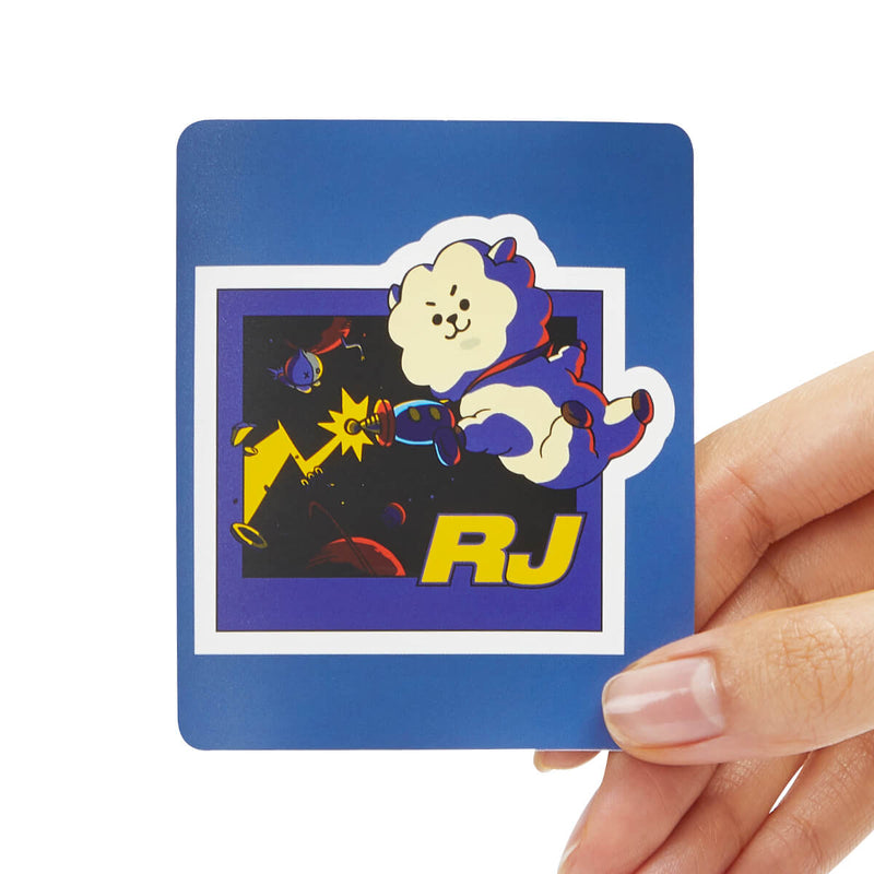 BT21 RJ Removable Decal Sticker (14)