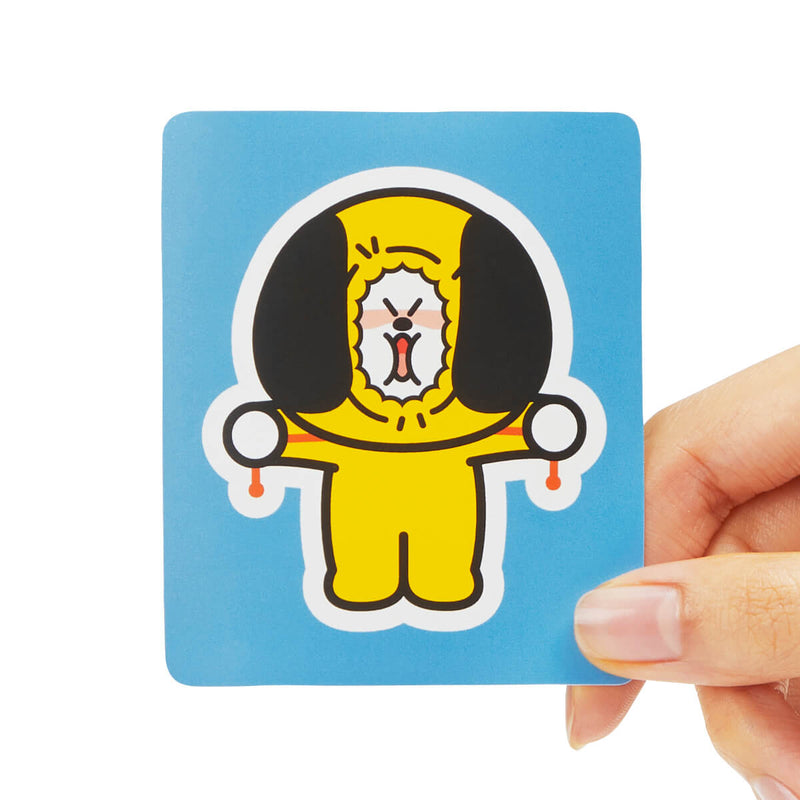 BT21 CHIMMY Removable Decal Sticker (06)