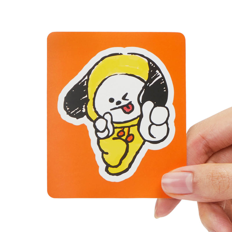 BT21 CHIMMY Removable Decal Sticker (07)