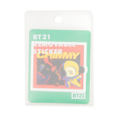 BT21 CHIMMY Removable Decal Sticker (09)