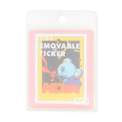 BT21 KOYA Removable Decal Sticker (25)