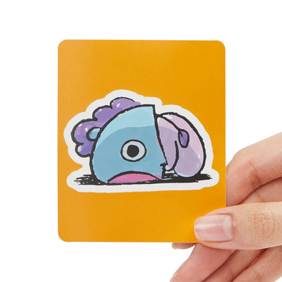 BT21 MANG Removable Decal Sticker (27)