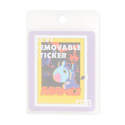 BT21 MANG Removable Decal Sticker (29)