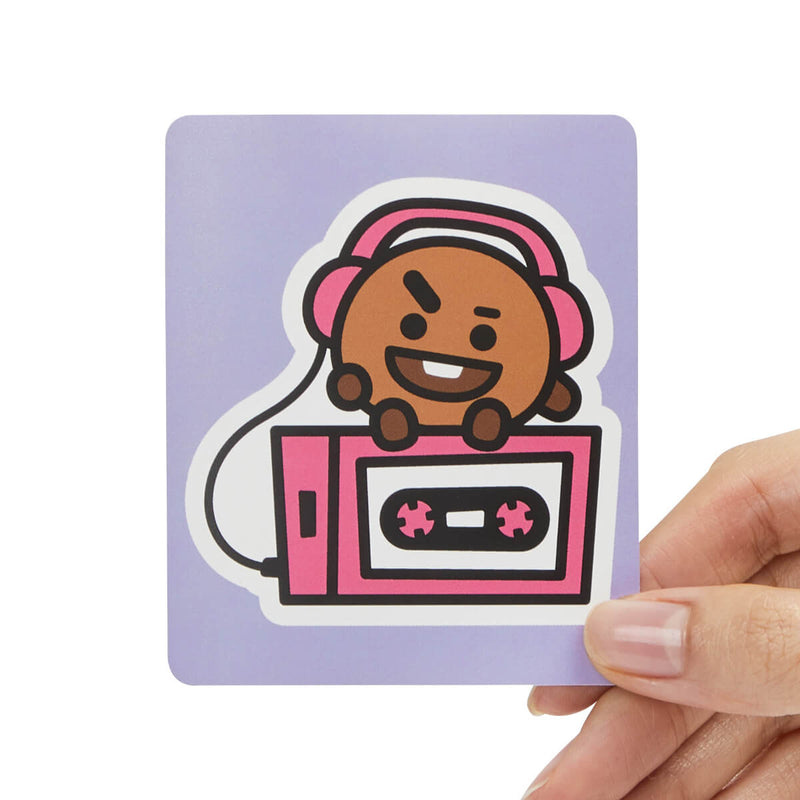 BT21 SHOOKY Removable Decal Sticker (16)
