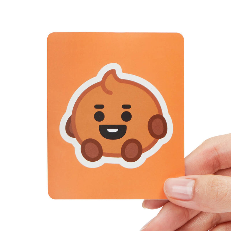 BT21 Baby SHOOKY Removable Decal Sticker (17)