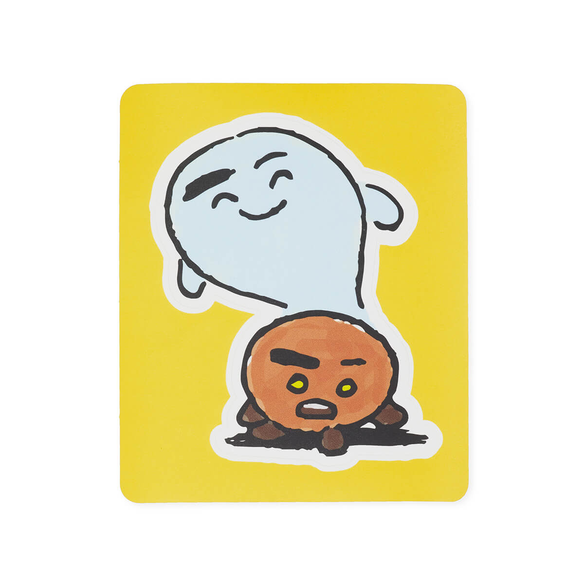 BT21 SHOOKY Removable Decal Sticker (18)