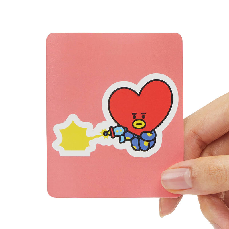 BT21 TATA Removable Decal Sticker (01)