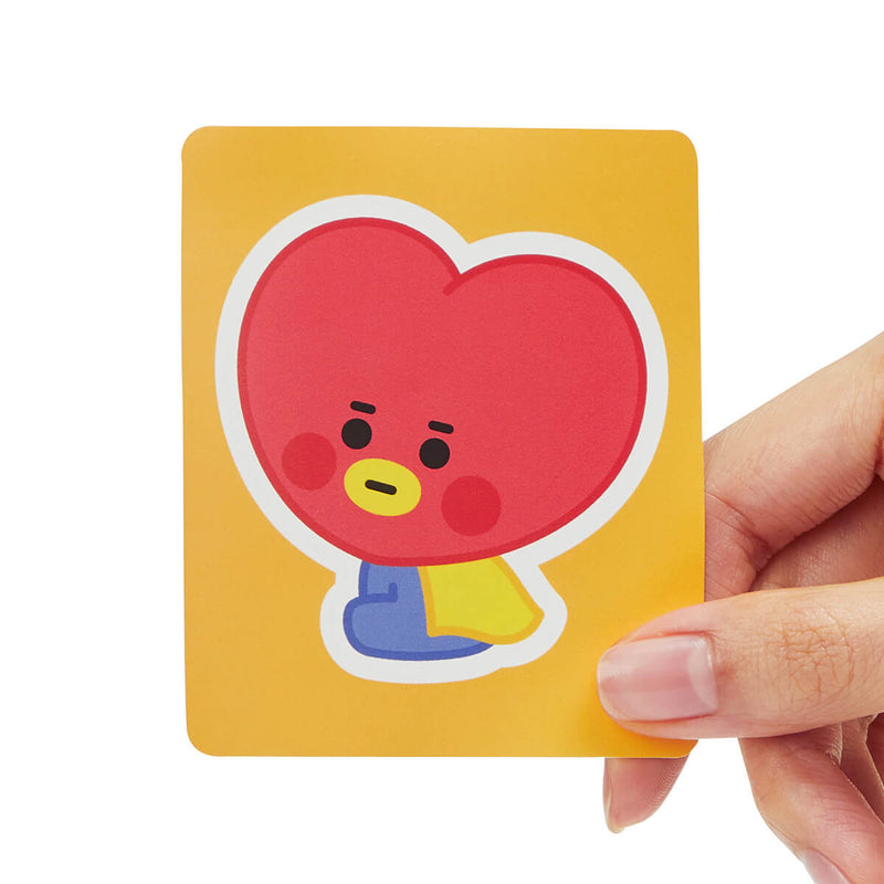 BT21 TATA Removable Sticker Design 02