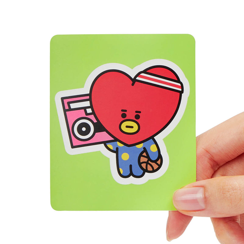 BT21 TATA Removable Decal Sticker (03)