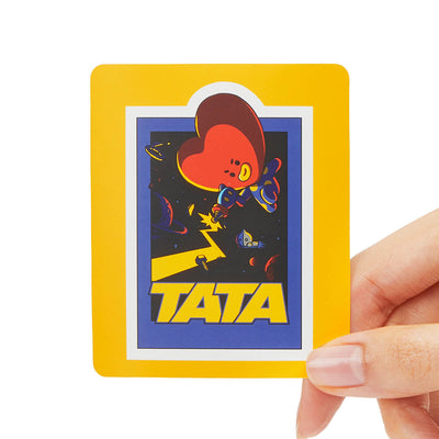 BT21 TATA Removable Decal Sticker (05)