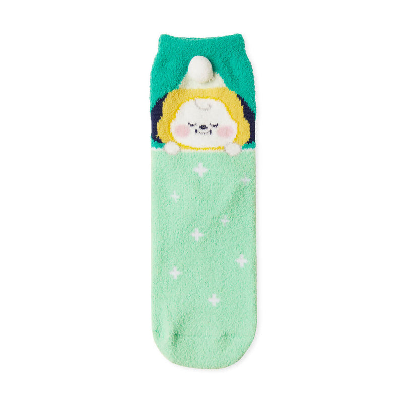 BT21 CHIMMY Dream of Baby Fuzzy Sleep Socks
