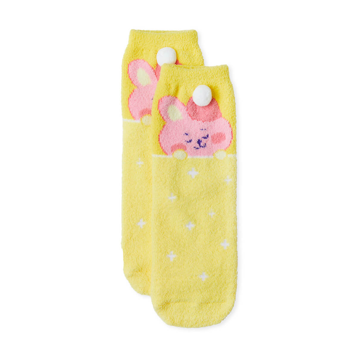 BT21 COOKY Dream of Baby Fuzzy Sleep Socks