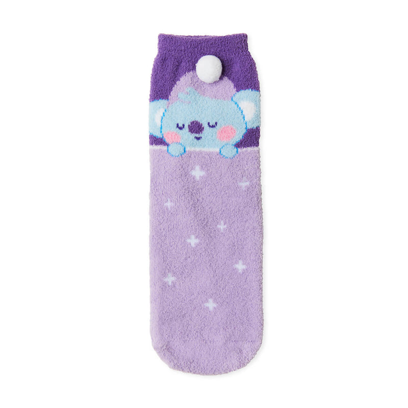 BT21 KOYA Dream of Baby Fuzzy Sleep Socks