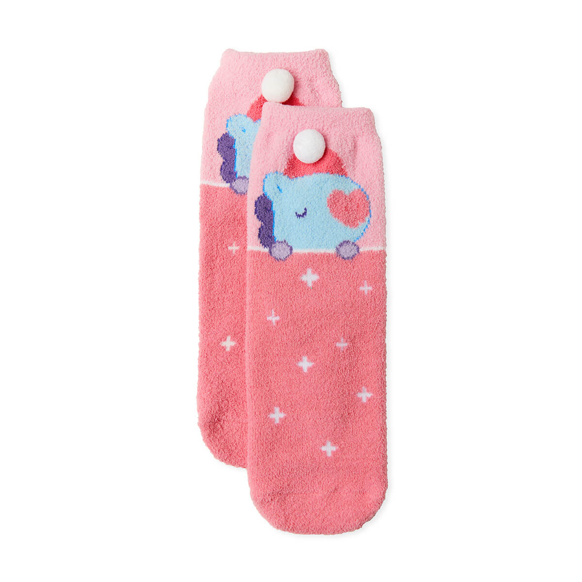 BT21 MANG Dream of Baby Fuzzy Sleep Socks