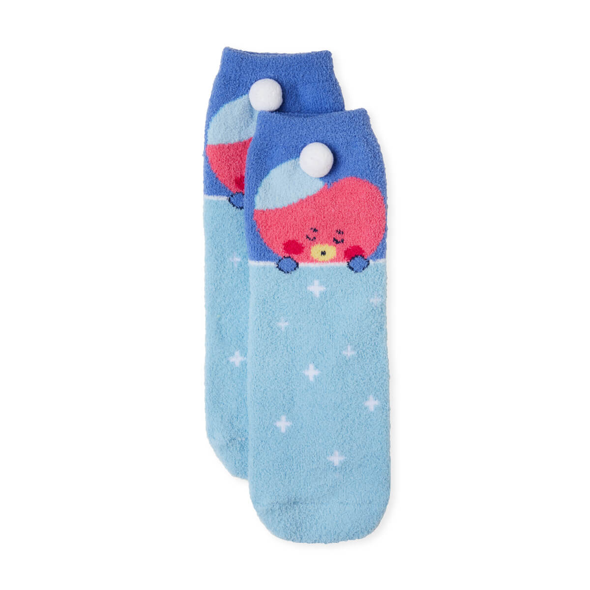 BT21 TATA Dream of Baby Fuzzy Sleep Socks