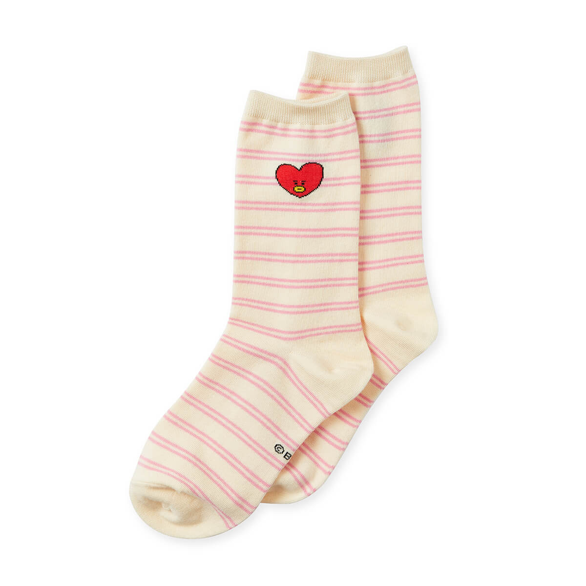 BT21 TATA Heart Socks