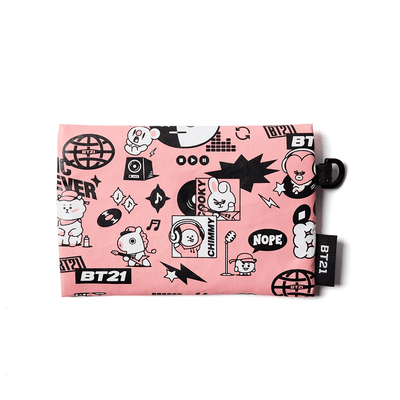 BT21 CHARACTERS Music Pattern Card Holder