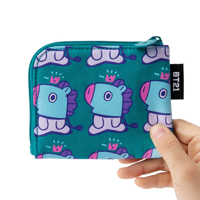 BT21 MANG Zippered Card Pouch