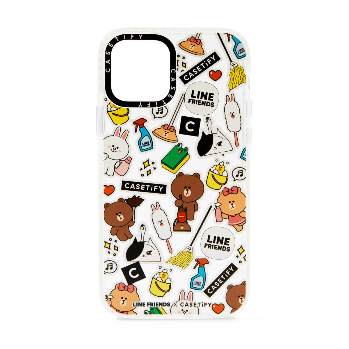 LINE FRIENDS x CASETiFY Spring Cleaning iPhone Case