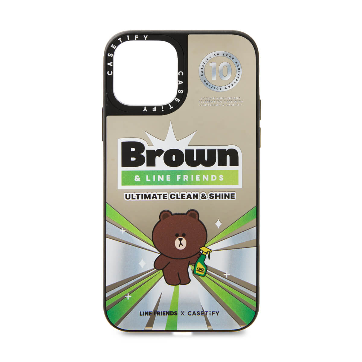 LINE FRIENDS x CASETiFY Clean & Shine iPhone Case