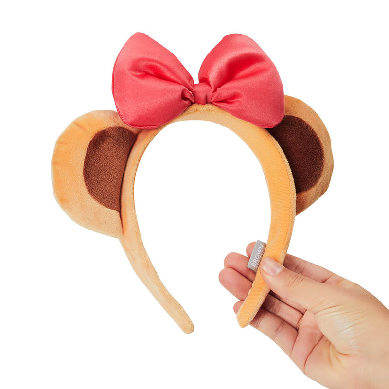 LINE FRIENDS CHOCO Unboxing Costume Ribbon Hair Band