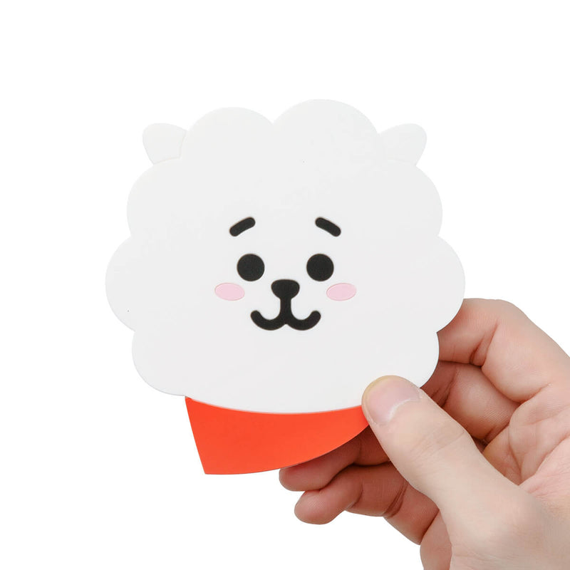 BT21 RJ Silicone Cup Coaster