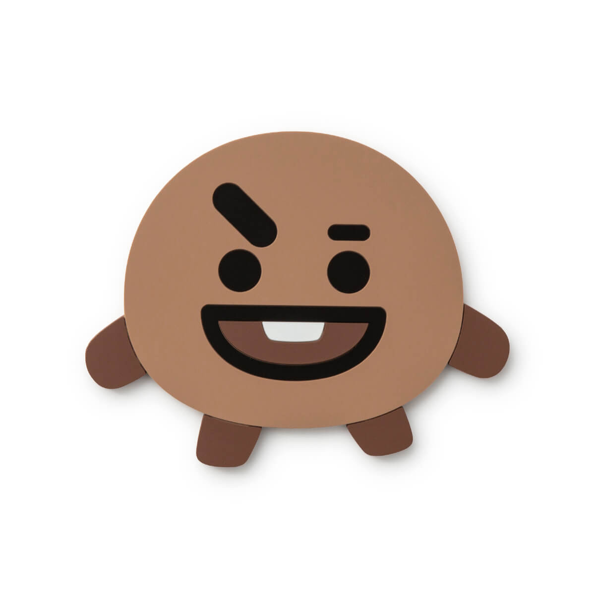 BT21 SHOOKY Silicone Cup Coaster