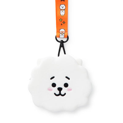 BT21 RJ Neck Strap Coin Purse