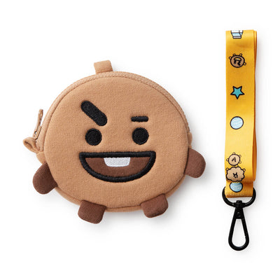BT21 SHOOKY Neck Strap Coin Purse
