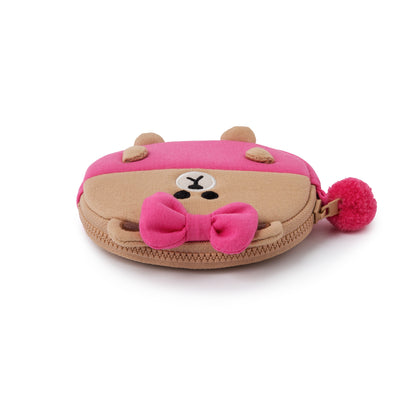 LINE FRIENDS CHOCO Cotton Coin Purse