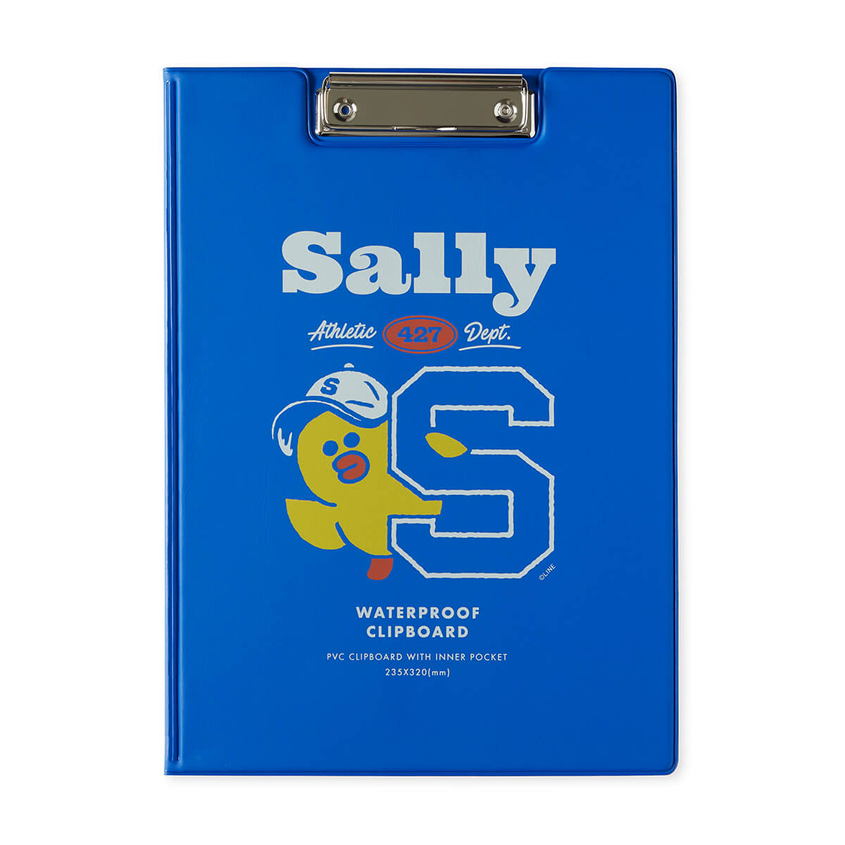 BF SALLY 20 UNIVERSITY Cover Clip Board