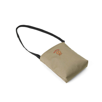 BROWN 20 University Cross Bag Beige