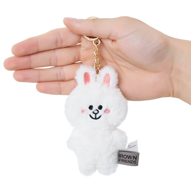 CONY Flat Fur Plush Bag Charm 10cm