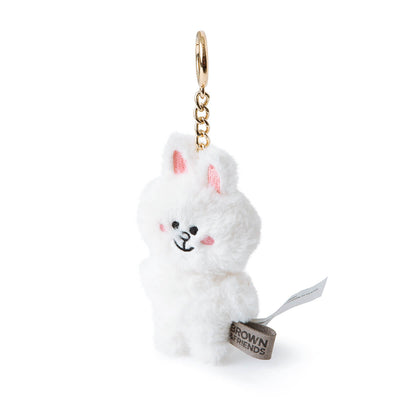 LINE FRIENDS CONY Flat Fur Plush Bag Charm 10cm