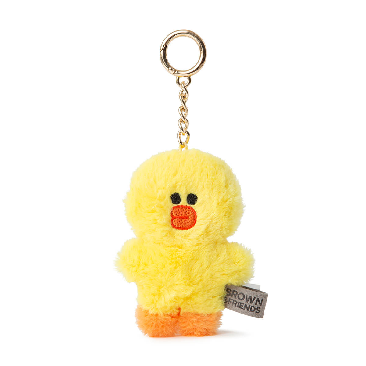 LINE FRIENDS SALLY Flat Fur Plush Bag Charm 10cm