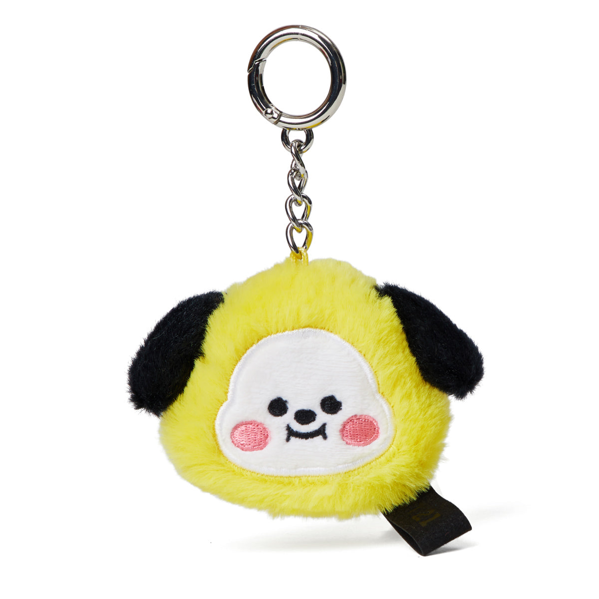 BT21 CHIMMY Baby Flat Fur Face Doll Keyring 2.0""