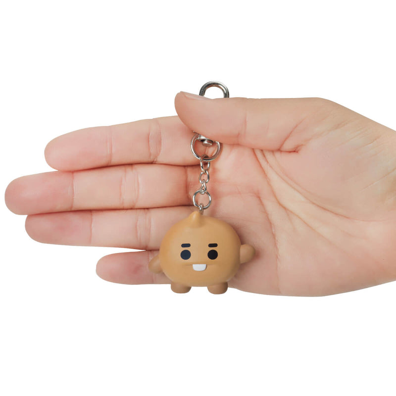 BT21 SHOOKY Baby Figure Keyring