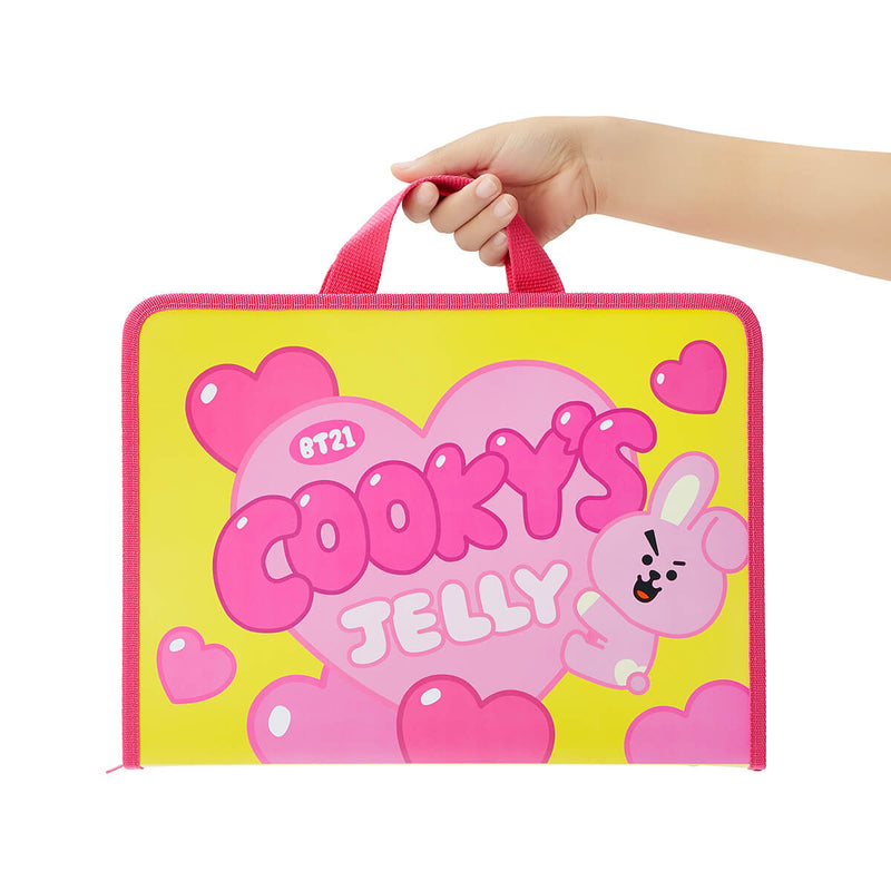 BT21 COOKY Sweet Zipper Folder