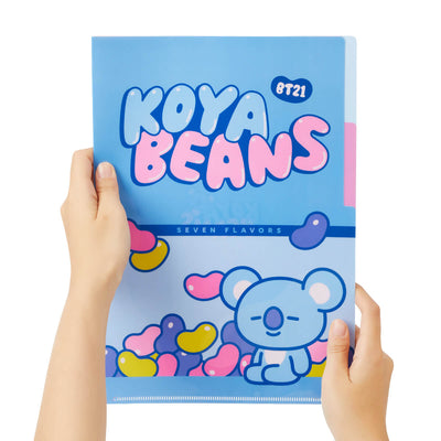 BT21 KOYA Sweet 2 Pocket PP Folder