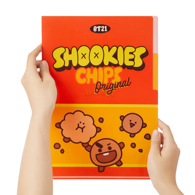 BT21 SHOOKY Sweet 2 Pocket PP Folder
