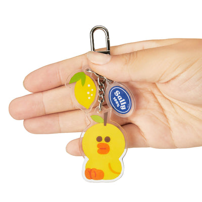 LINE FRIENDS SALLY Fruity Acrylic Keyring