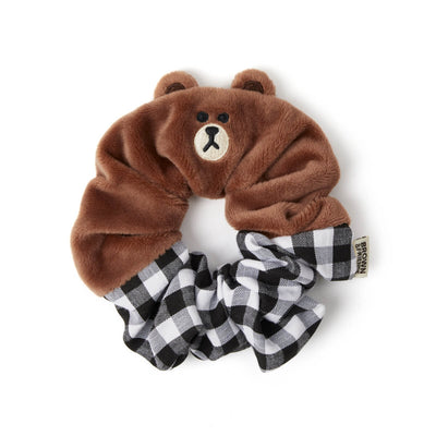 BF BROWN Scrunchie Hair Tie