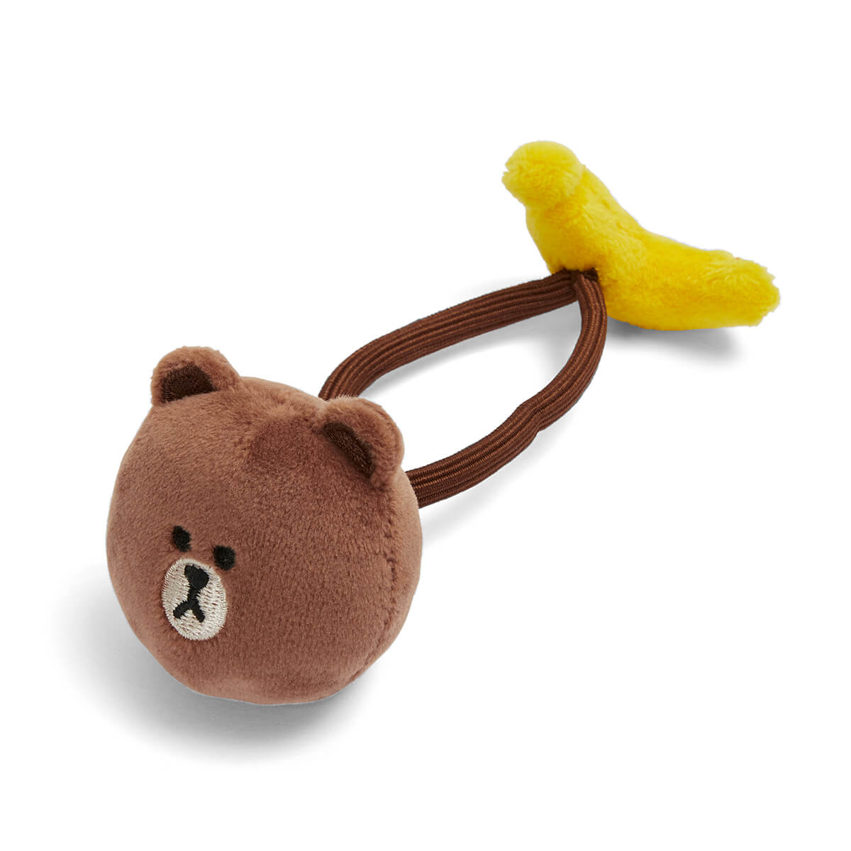 BROWN Banana Hair Tie