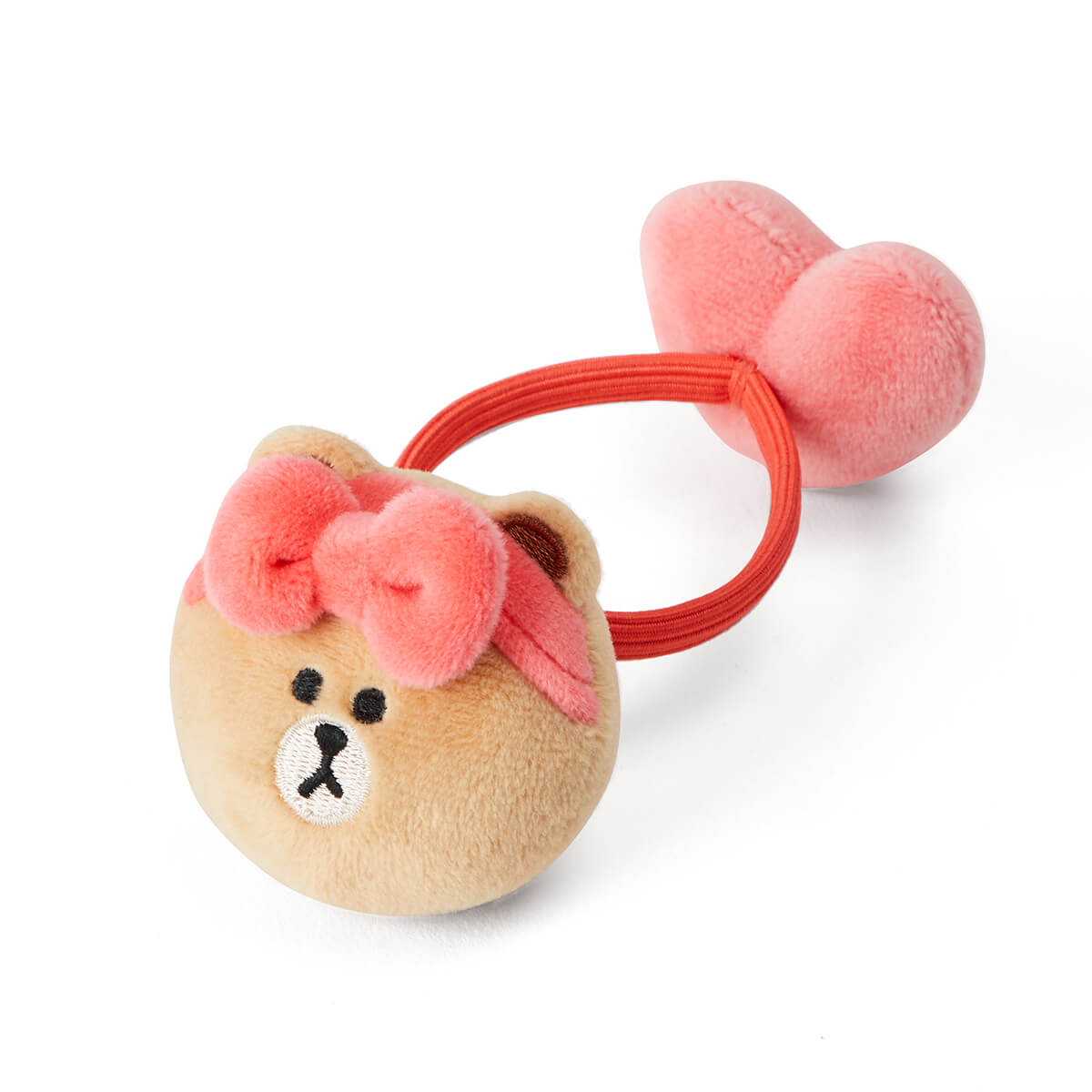 LINE FRIENDS CHOCO Unboxing Heart Doll Hair Tie
